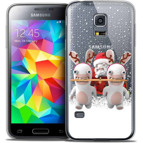 Coque Galaxy S5 Extra Fine Lapins Crétins™ - Lapin Traineau