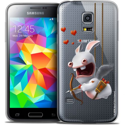 Coque Galaxy S5 Extra Fine Lapins Crétins™ - Flying Cupidon