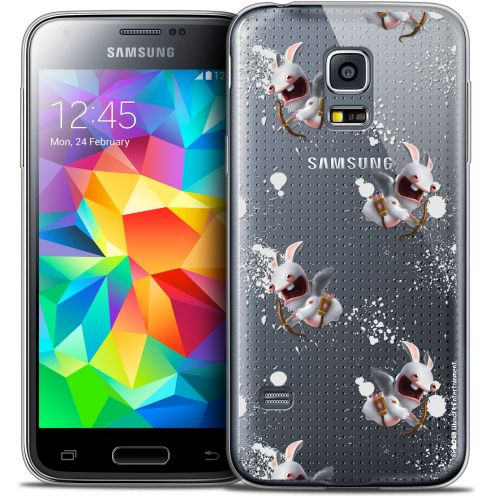 Coque Galaxy S5 Extra Fine Lapins Crétins™ - Cupidon Pattern