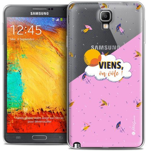 Coque Galaxy Note 3 Neo / Lite Extra Fine Petits Grains® - VIENS, On Vole !