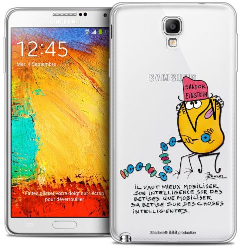 Coque Galaxy Note 3 Neo / Lite Extra Fine Les Shadoks® - Einstein
