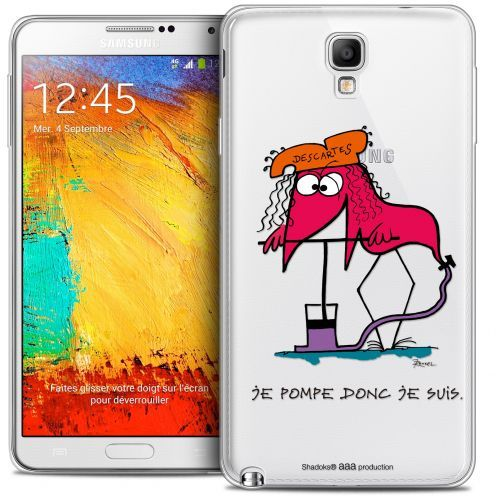 Coque Galaxy Note 3 Neo / Lite Extra Fine Les Shadoks® - Donc Je Suis