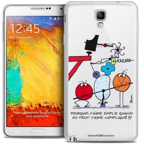 Coque Galaxy Note 3 Neo / Lite Extra Fine Les Shadoks® - Pourquoi faire Simple