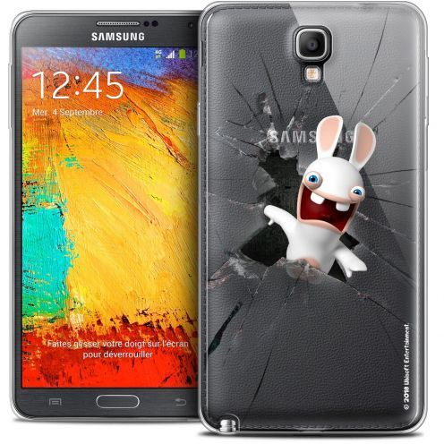 Coque Galaxy Note 3 Neo / Lite Extra Fine Lapins Crétins™ - Breaking Glass