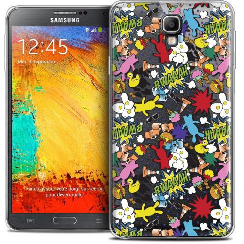 Coque Galaxy Note 3 Neo / Lite Extra Fine Lapins Crétins™ - Bwaaah Pattern