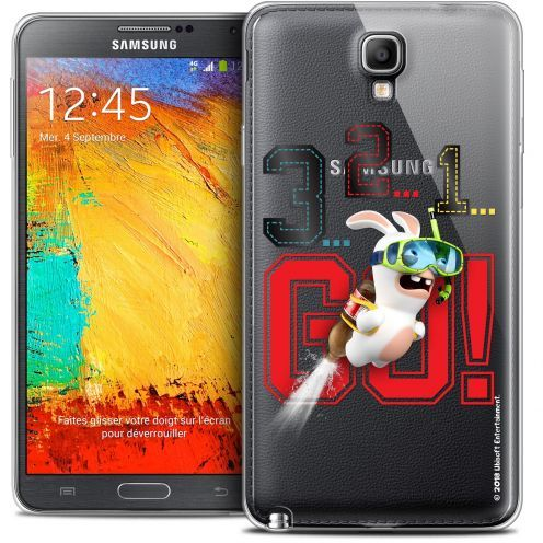 Coque Galaxy Note 3 Neo / Lite Extra Fine Lapins Crétins™ - 321 Go !