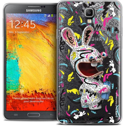 Coque Galaxy Note 3 Neo / Lite Extra Fine Lapins Crétins™ - Tag