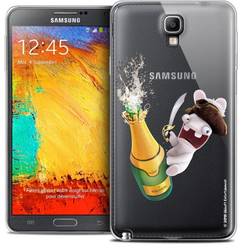 Coque Galaxy Note 3 Neo / Lite Extra Fine Lapins Crétins™ - Champagne !