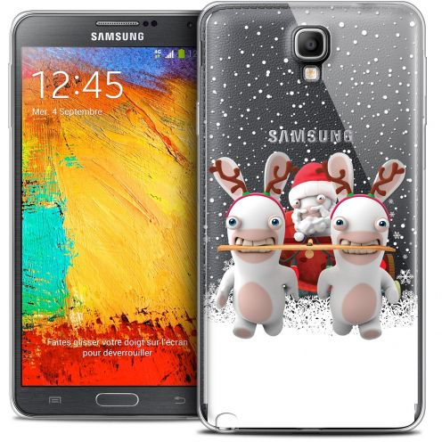 Coque Galaxy Note 3 Neo / Lite Extra Fine Lapins Crétins™ - Lapin Traineau