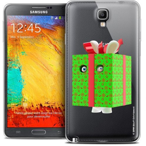 Coque Galaxy Note 3 Neo / Lite Extra Fine Lapins Crétins™ - Lapin Surprise Vert