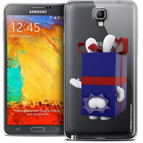 Coque Galaxy Note 3 Neo / Lite Extra Fine Lapins Crétins™ - Lapin Surprise Bleu