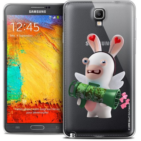 Coque Galaxy Note 3 Neo / Lite Extra Fine Lapins Crétins™ - Cupidon Soldat