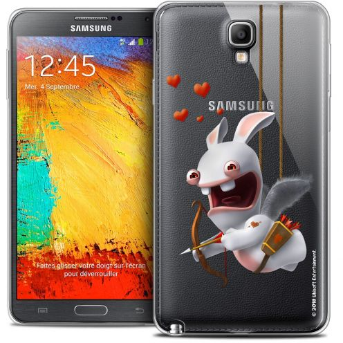 Coque Galaxy Note 3 Neo / Lite Extra Fine Lapins Crétins™ - Flying Cupidon