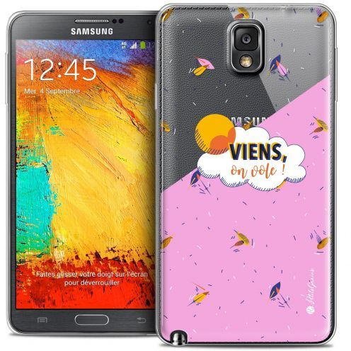 Coque Galaxy Note 3 Extra Fine Petits Grains® - VIENS, On Vole !