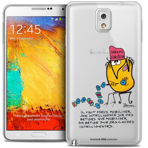 Coque Galaxy Note 3 Extra Fine Les Shadoks® - Einstein