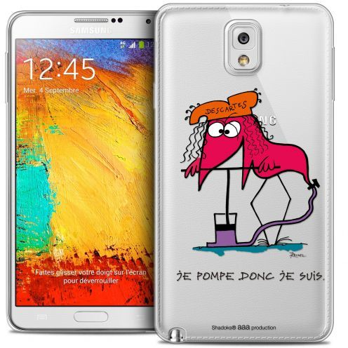 Coque Galaxy Note 3 Extra Fine Les Shadoks® - Donc Je Suis