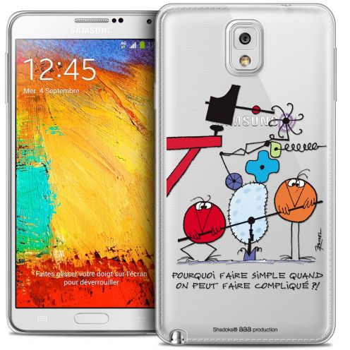 Coque Galaxy Note 3 Extra Fine Les Shadoks® - Pourquoi faire Simple