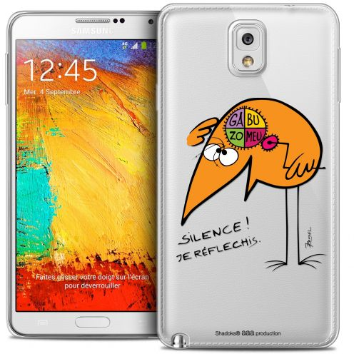 Coque Galaxy Note 3 Extra Fine Les Shadoks® - Silence !