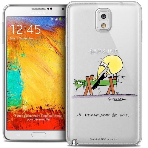 Coque Galaxy Note 3 Extra Fine Les Shadoks® - Je pense Donc
