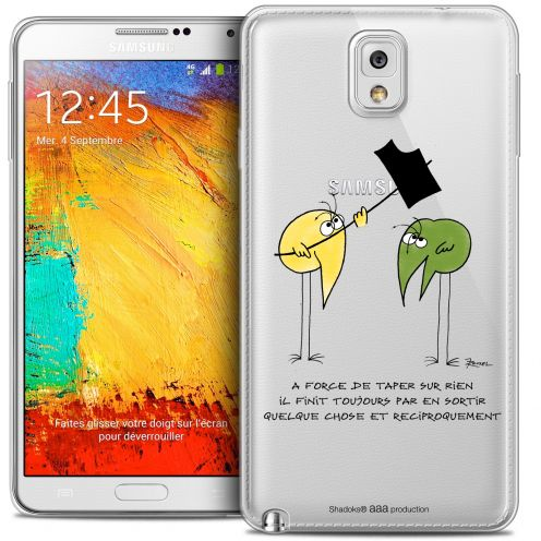 Coque Galaxy Note 3 Extra Fine Les Shadoks® - A Force