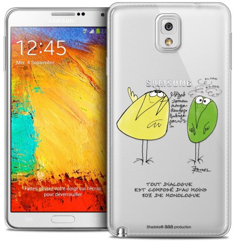 Coque Galaxy Note 3 Extra Fine Les Shadoks® - Le Dialogue