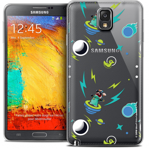 Coque Galaxy Note 3 Extra Fine Lapins Crétins™ - Space 1