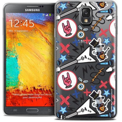 Coque Galaxy Note 3 Extra Fine Lapins Crétins™ - Rock Pattern