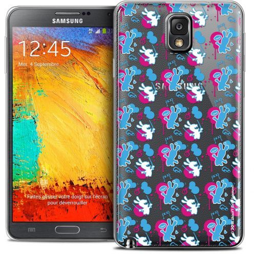 Coque Galaxy Note 3 Extra Fine Lapins Crétins™ - Rugby Pattern