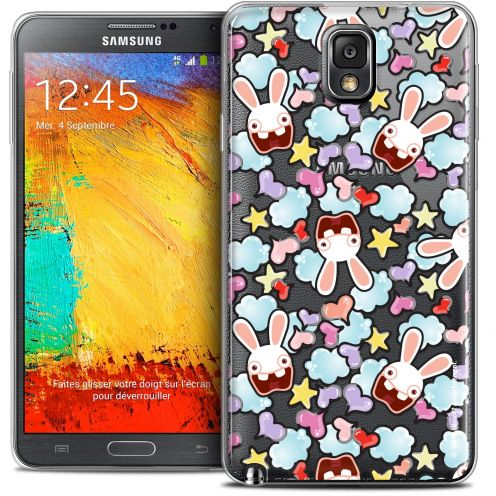 Coque Galaxy Note 3 Extra Fine Lapins Crétins™ - Love Pattern