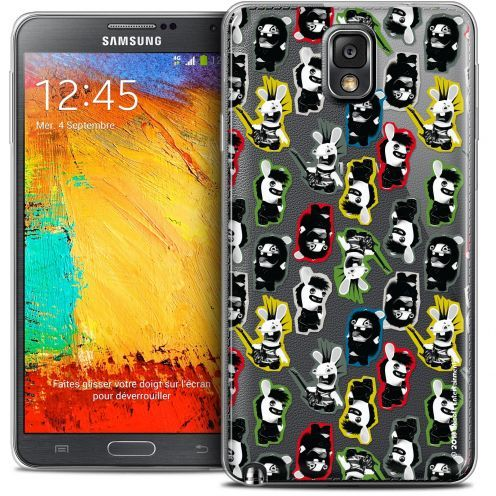 Coque Galaxy Note 3 Extra Fine Lapins Crétins™ - Punk Pattern