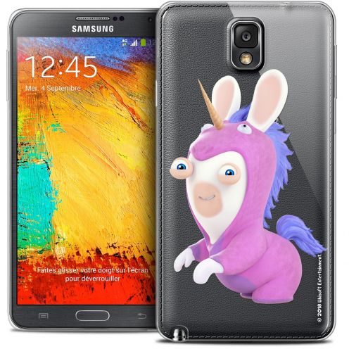 Coque Galaxy Note 3 Extra Fine Lapins Crétins™ - Licorne