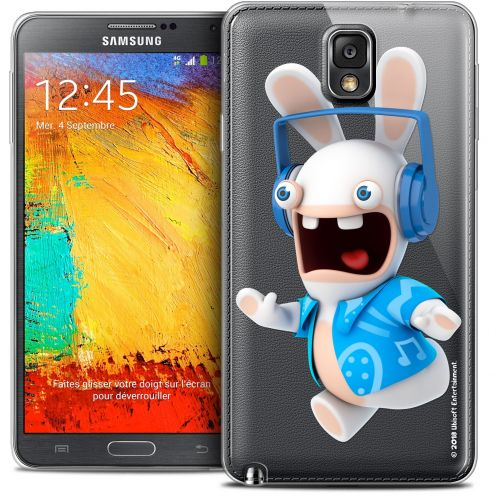 Coque Galaxy Note 3 Extra Fine Lapins Crétins™ - Techno Lapin