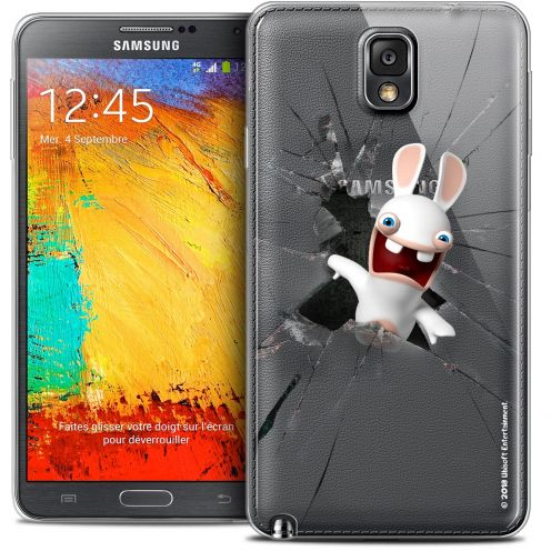 Coque Galaxy Note 3 Extra Fine Lapins Crétins™ - Breaking Glass