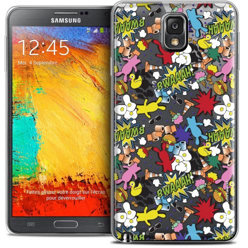 Coque Galaxy Note 3 Extra Fine Lapins Crétins™ - Bwaaah Pattern