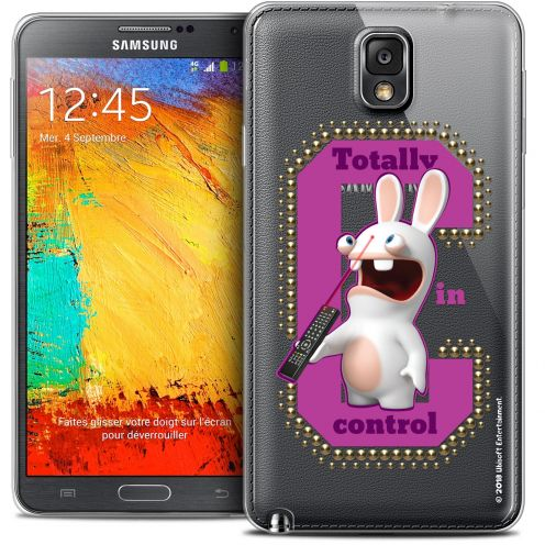 Coque Galaxy Note 3 Extra Fine Lapins Crétins™ - In Control !