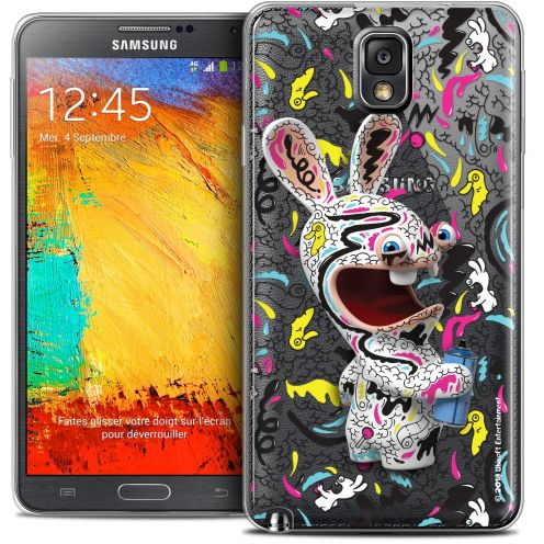 Coque Galaxy Note 3 Extra Fine Lapins Crétins™ - Tag