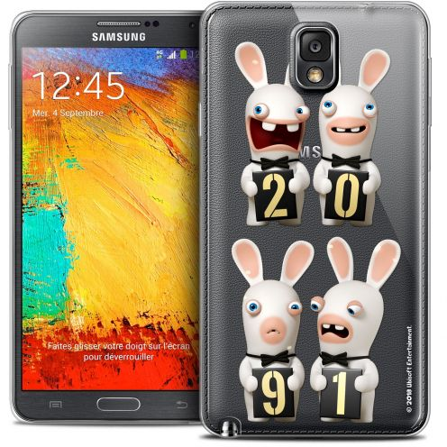 Coque Galaxy Note 3 Extra Fine Lapins Crétins™ - New Year