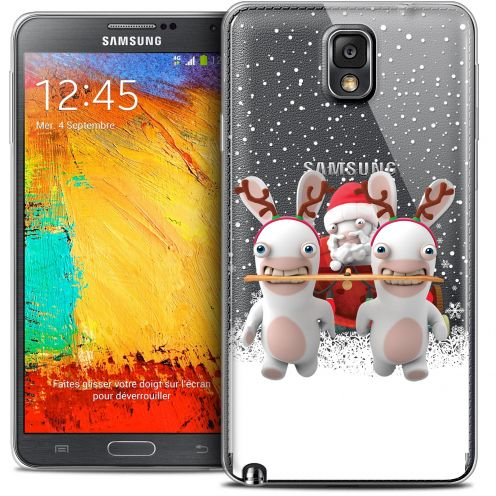 Coque Galaxy Note 3 Extra Fine Lapins Crétins™ - Lapin Traineau