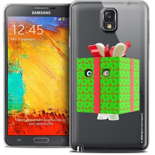 Coque Galaxy Note 3 Extra Fine Lapins Crétins™ - Lapin Surprise Vert
