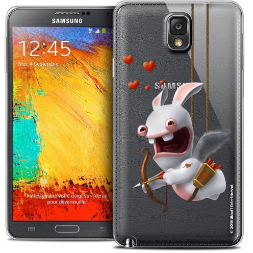Coque Galaxy Note 3 Extra Fine Lapins Crétins™ - Flying Cupidon