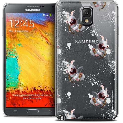 Coque Galaxy Note 3 Extra Fine Lapins Crétins™ - Cupidon Pattern