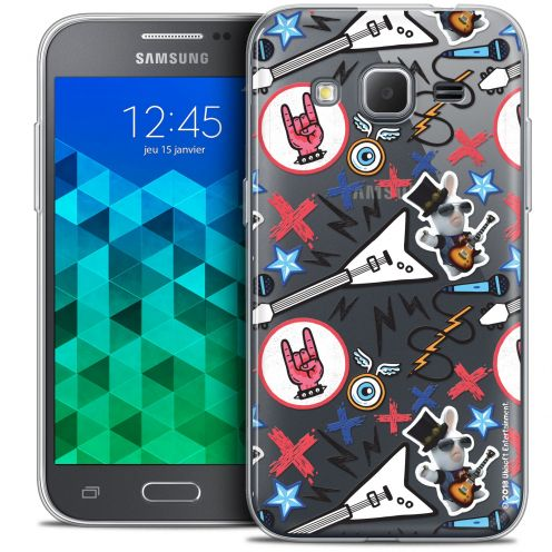 Coque Samsung Galaxy Core Prime (G360) Extra Fine Lapins Crétins™ - Rock Pattern