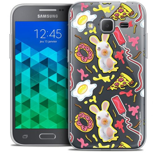Coque Samsung Galaxy Core Prime (G360) Extra Fine Lapins Crétins™ - Egg Pattern