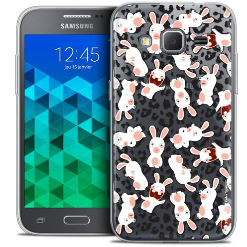 Coque Samsung Galaxy Core Prime (G360) Extra Fine Lapins Crétins™ - Leopard Pattern