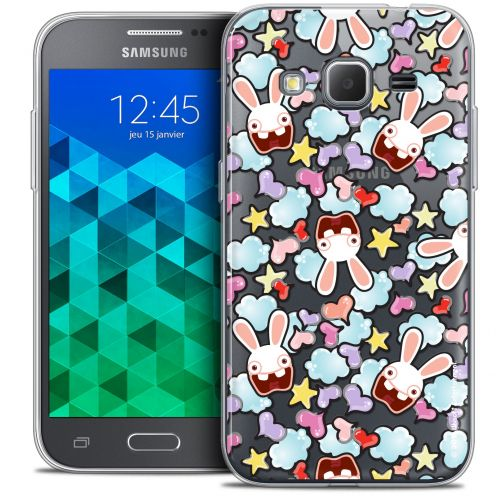 Coque Samsung Galaxy Core Prime (G360) Extra Fine Lapins Crétins™ - Love Pattern