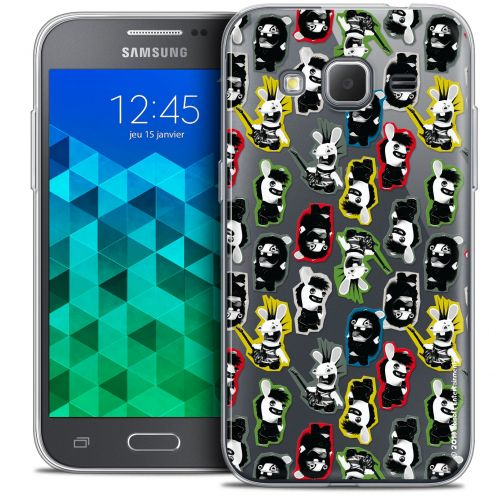 Coque Samsung Galaxy Core Prime (G360) Extra Fine Lapins Crétins™ - Punk Pattern