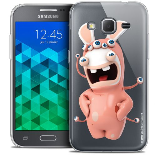 Coque Samsung Galaxy Core Prime (G360) Extra Fine Lapins Crétins™ - Extraterrestre