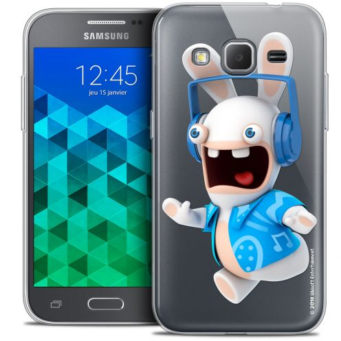 Coque Samsung Galaxy Core Prime (G360) Extra Fine Lapins Crétins™ - Techno Lapin