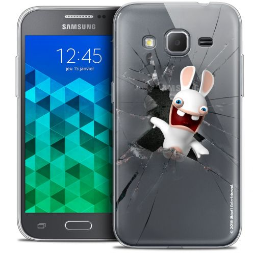 Coque Samsung Galaxy Core Prime (G360) Extra Fine Lapins Crétins™ - Breaking Glass
