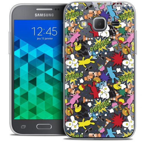 Coque Samsung Galaxy Core Prime (G360) Extra Fine Lapins Crétins™ - Bwaaah Pattern